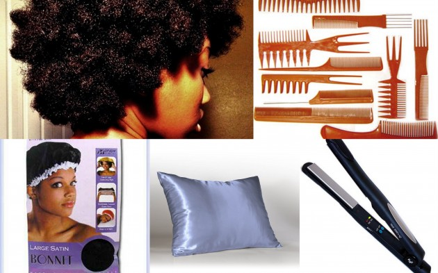 Natural Hair Styling Tools: Keeping Your Hair Tools Clean